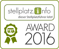 Der Stellplatz.Info Award 2015 - Logo