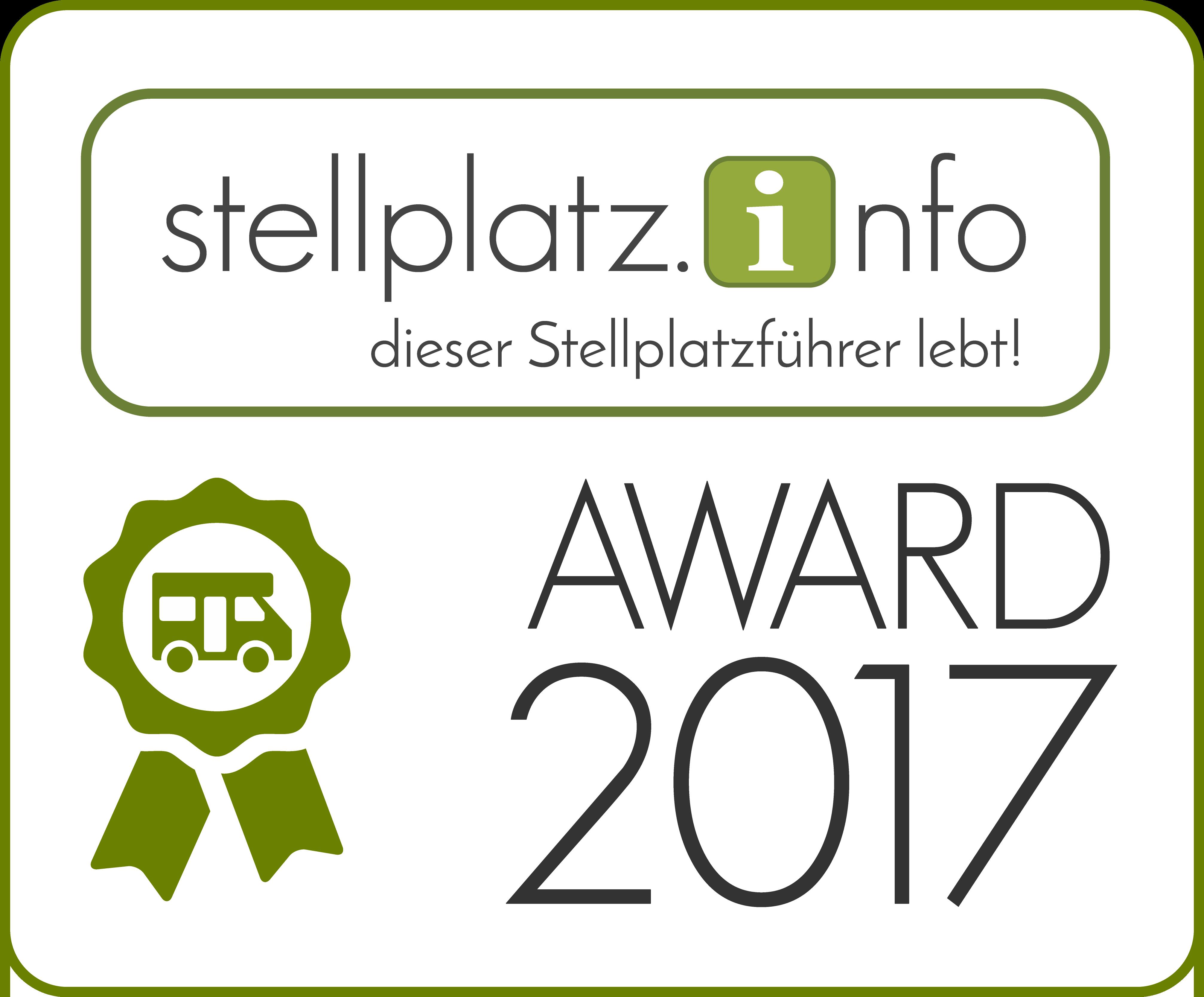 Stellplatz.info Award 2017