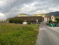 Reisemobilstellplatz - Wallis - Parking Bains de Saillon