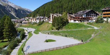 Reisemobilstellplatz - Hallenbad - Südtirol - Alpina Mountain Resort